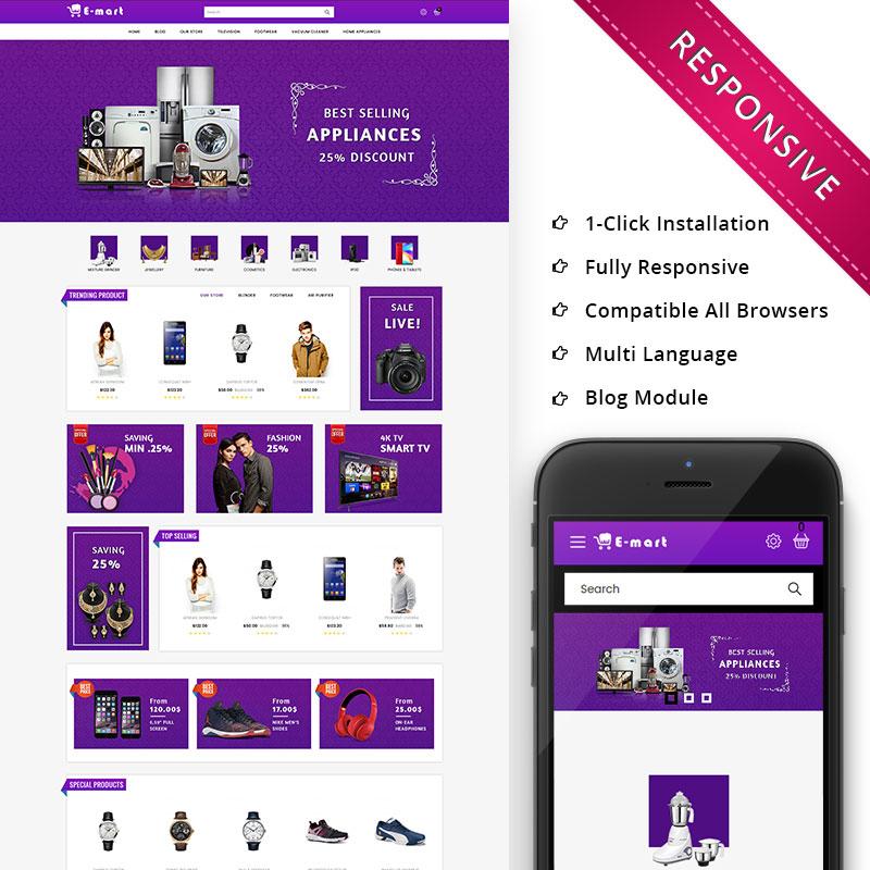 Emart - Mega Store Responsive Premium OpenCart Template